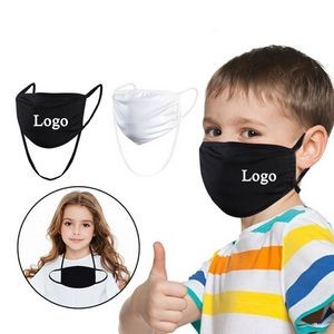 2-layer Reusable Face Mask With Adjustable Strap For Kids 2-layer Reusable Face Mask for kids