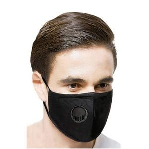 3 Layer Adult Reusable Anti Haze Mask with Valve